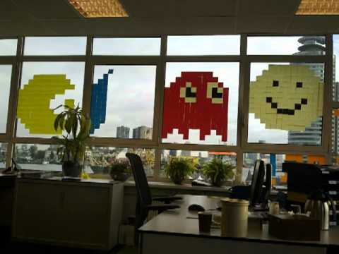 Post-It War Rotterdam (updated video and also sound included)