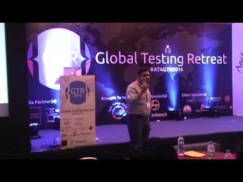 Ramit Manohar Kaul At Agile Testing Alliance's Global Testing Retreat 2016 In Pune India