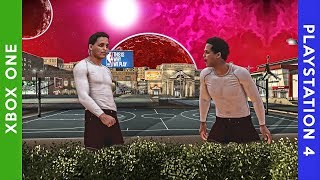 XBOX vs PS4 CROSS PLAY FOR THE FIRST TIME IN NBA 2K HISTORY!