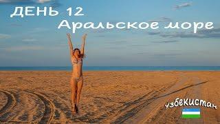 Узбекистан. День 12. Муйнак и Аральское море. Марс на Земле. Фантастика.Vlog