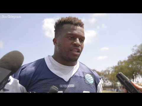 Former olympian and current Cowboys DE Lawrence Okoye wants to live in the here and now