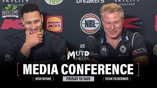 Rd 6: Melb Utd vs NZ Breakers - Post-Match Media Conference