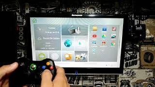 JOGOS no TV BOX - CONTROLE Xbox 360 - Parte 1