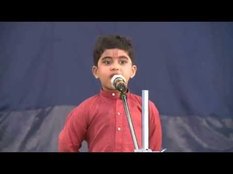 Small Boy speech about grand parents