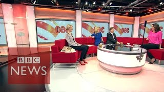 BBC Breakfast - Behind the scenes (360 video) - BBC News(Watch in 360 - behind-the-scenes of the BBC Breakfast studio with Bill Turnbull, Louise Minchin, Steph McGovern, Sally Nugent and Carol Kirkwood. Don't miss ..., 2015-12-21T05:58:58.000Z)