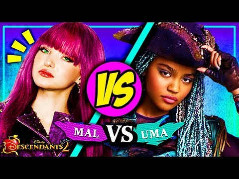Descendants 2: Mal vs Uma | Disney Descendants Game | MAL RE