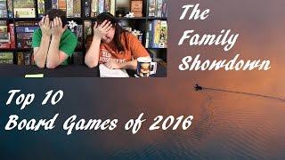 Top 10 Board Games of 2016