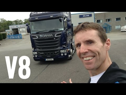 2016 SCANIA R520 V8 Truck Full Tour + Test Drive - Stavros969 4K