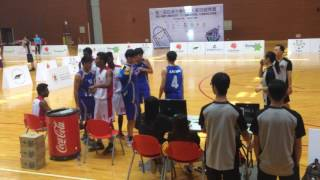 2016 Asian University 3 on 3 Basketball Sri Lanka (B) vs Malaysia