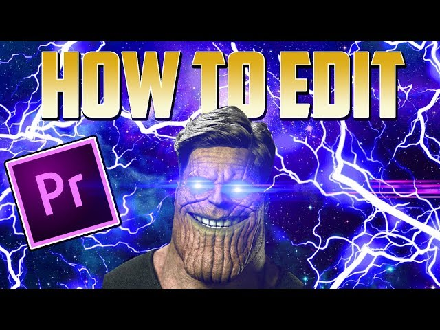 How To Edit Funny Gaming Videos For Beginners Premiere Pro Tutorial Youtube
