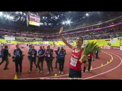 European Indoor Championships Prague - Jakub Holusa 3.37.68 (NR) - Men's 1500 Metres Final