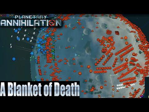Planetary Annihilation 35 Player FFA - A Blanket of Death