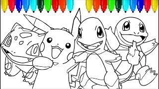 Pokemon Coloring Pages 2