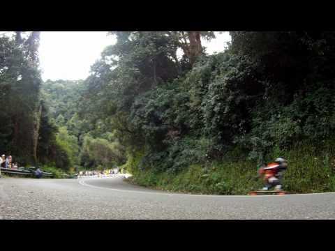 World Downhill Skateboard Championships Mt Keira Australia 2012
