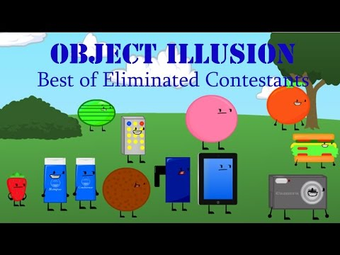 Best Of Eliminated Contestants (Up To Episode 9)   Object Illusion S1