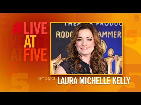 Broadway.com #LiveatFive with Laura Michelle Kelly
