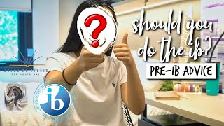 SHOULD YOU DO THE IB? (PRE-IB ADVICE) + FACE REVEAL!! | studycollab: alicia