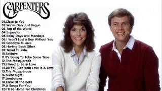 The Carpenters Greatest Hits Full Live 2017 - Best The Carpenters Songs