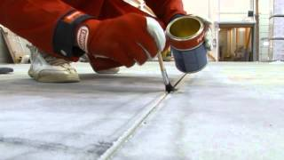 видео Нарезка швов в бетонных полах