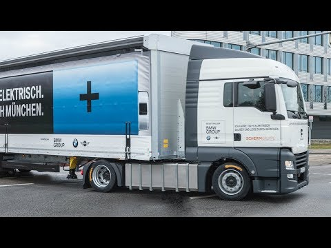 100% Electric Truck for BMW Group