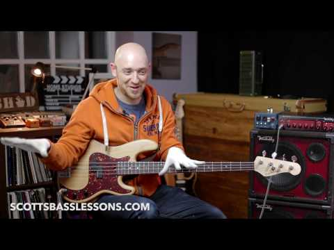 """Bad Bass Technique: The Dreaded """"See-Saw""""! /// Scott's Bass Lessons"""