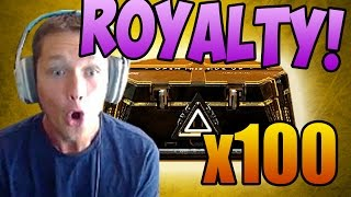 Opening 100 Advanced Supply Drops - HUNTING ROYALTY ELITE VARIANTS! (And Code Giveaway!)