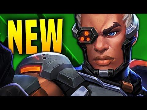NEW MAP + BUFFED LEX!!   Paladins Lex Gameplay & Build