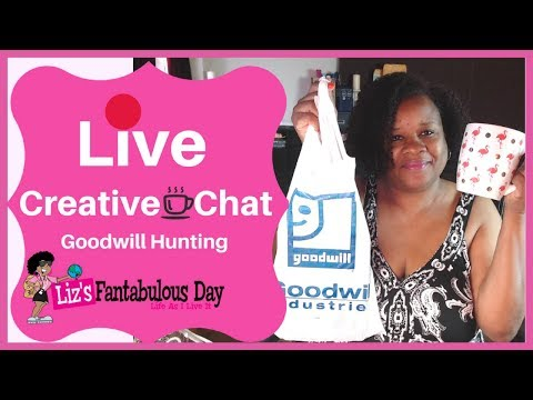 🔴 LIVE Coffee ☕️ Creative Chat - Goodwill Hunting