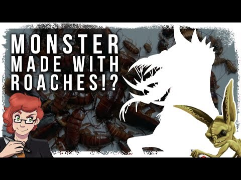 Creating a Random MonsterWith Roaches? - Collab with IMP Studios  Monster Mash