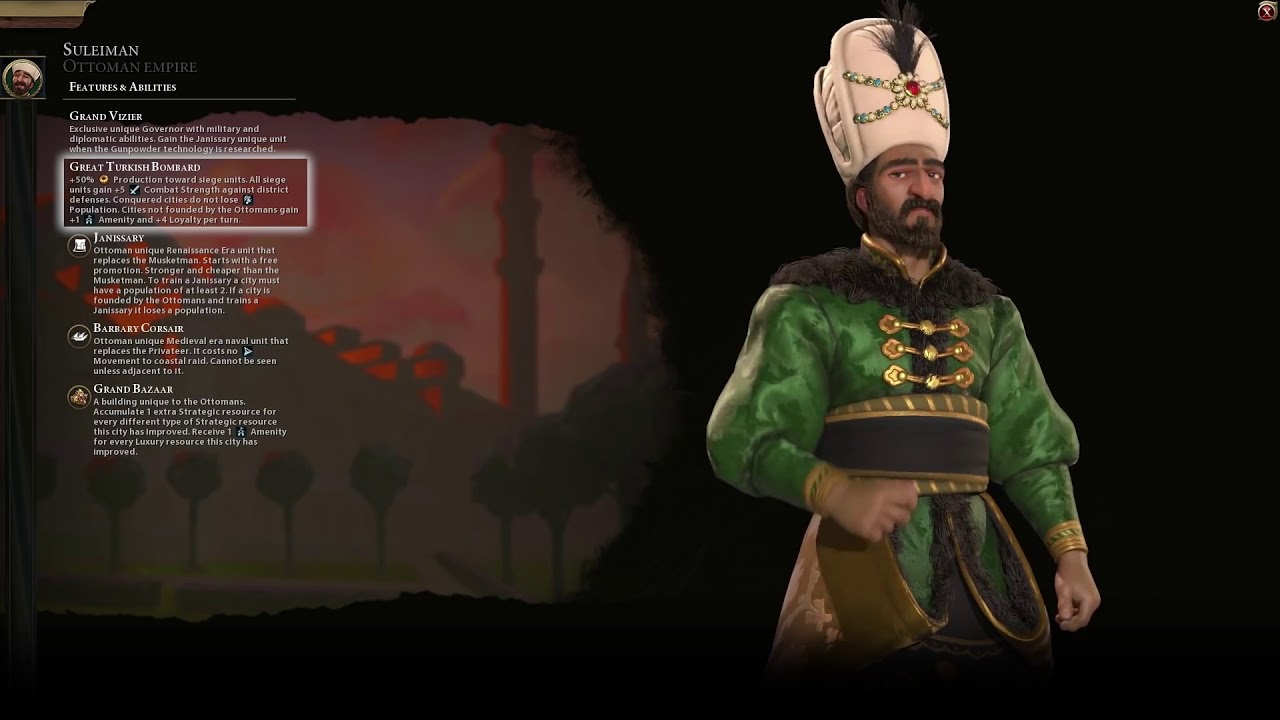 Civilization VI: Gathering Storm - Ottomans | First Look (PC)