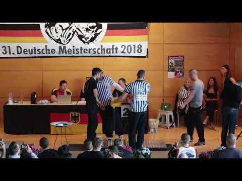 Deutsche Meisterschaft 2018 //Finale  Newcomer -80kg links