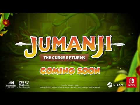JUMANJI: The Curse Returns - Coming Soon on Steam and Nintendo Switch