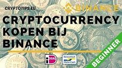 Hoe werkt Binance: Cryptocurrency kopen bij Binance met iDEAL/Bancontact