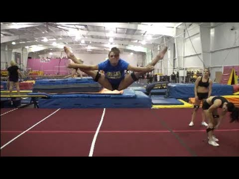 Cheer Jump Workout with Kinetic Bands and Stunt Strap - YouTube