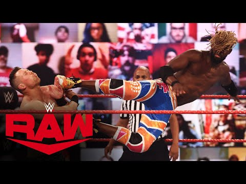 Kofi Kingston vs. The Miz: Raw, Feb. 15, 2021