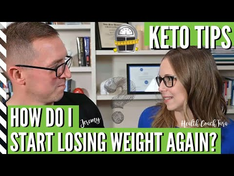what's-your-best-advice-for-a-weight-loss-plateau-on-the-keto-diet?-with-health-coach-tara-&-jeremy