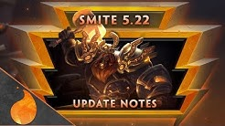 Smite Patch Notes 5.22 Arrival Review!
