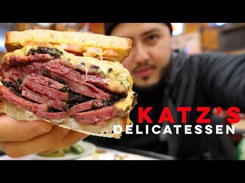 Katz's Delicatessen PASTRAMI - New York City