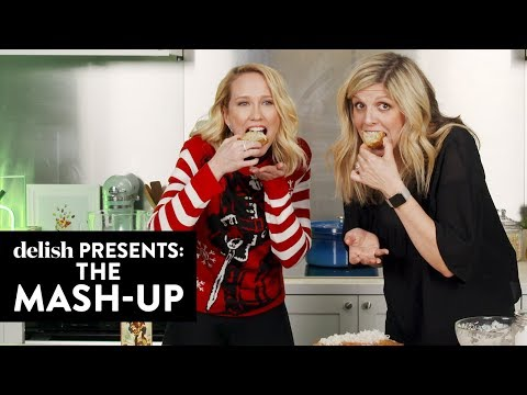 Anna Camp Made The Booziest Spiked Banana Bread We've Ever Tasted  The MashUp  Delish  Ep 3
