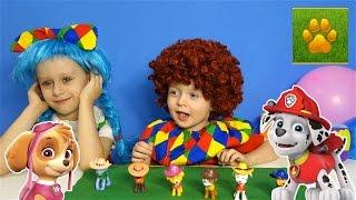 Щенячий Патруль ПРЕВРАЩЕНИЕ  Видео для детей ЩЕНЯЧИЙ ПАТРУЛЬ Игры PAW Patrol Детский канал Lion boy