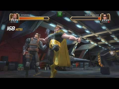 Rank 5 Hyperion VS Realm Of Legends Winter Soldier - Marvel Contest Of Champions