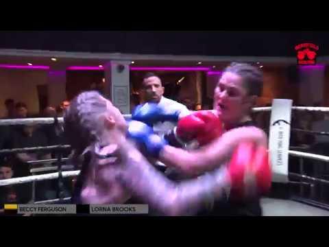 Shrewsbury Fight Night 5 - Becky Ferguson Vs Lorna Brooks