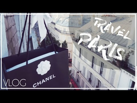 A Day in PARIS + CHANEL UNBOXING // Eiffel Tower, Lido & Luxe Shopping