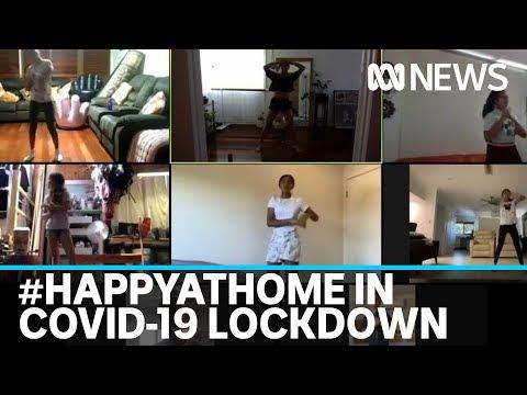 Coronavirus Isolation Prompts #happyathome Digital Movement As Spirits Soar Online | ABC News