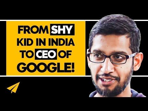 Sundar Pichai's Road to Becoming Google CEO - #MentorMeSundar