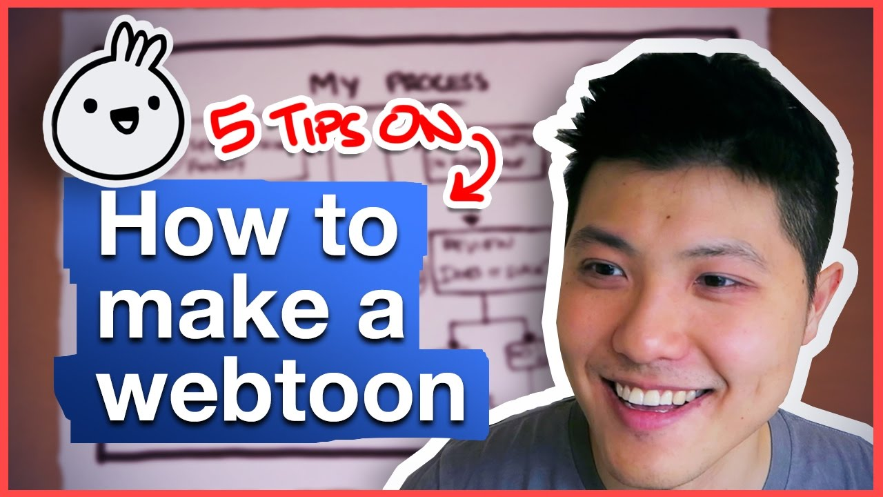 How to make a webtoon - 5 tips to get started