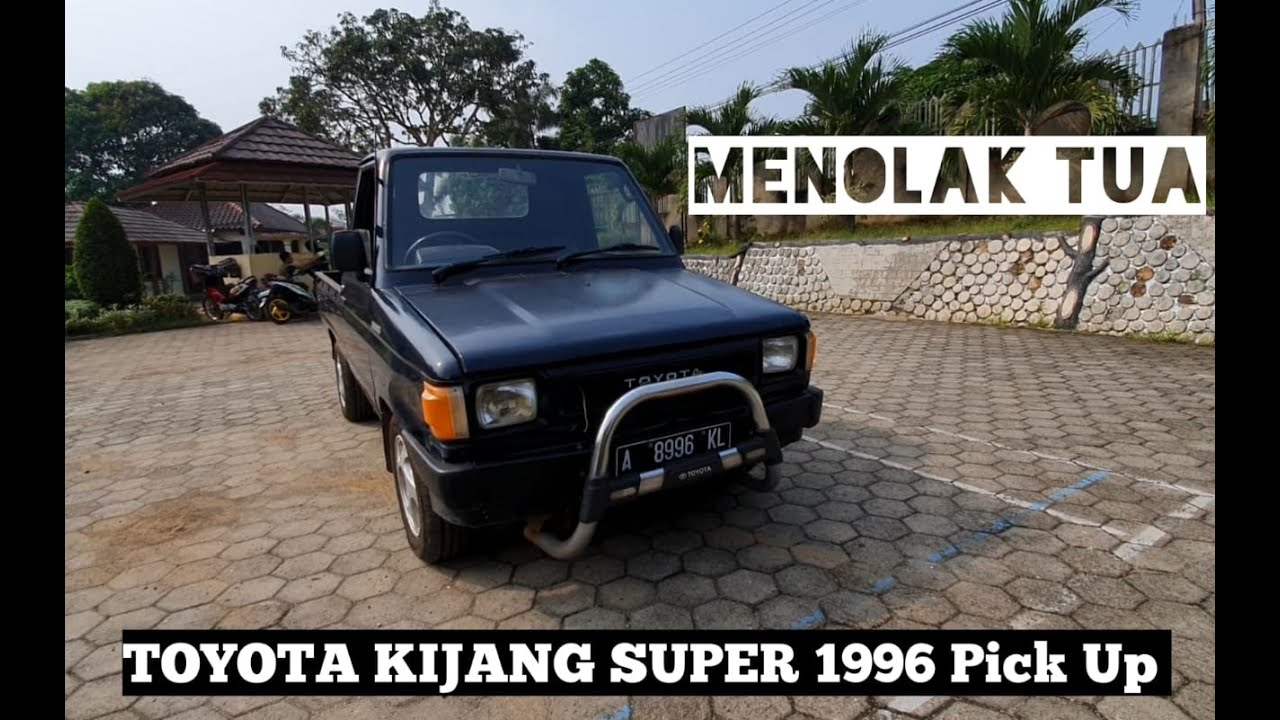 Review Toyota Kijang Super 1996 Pick Up