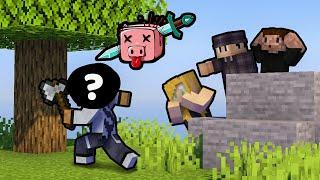 ODKRYLIŚMY KTO WYCINA WSZYSTKIE DRZEWA - Minecraft Kwadratowa Masakra