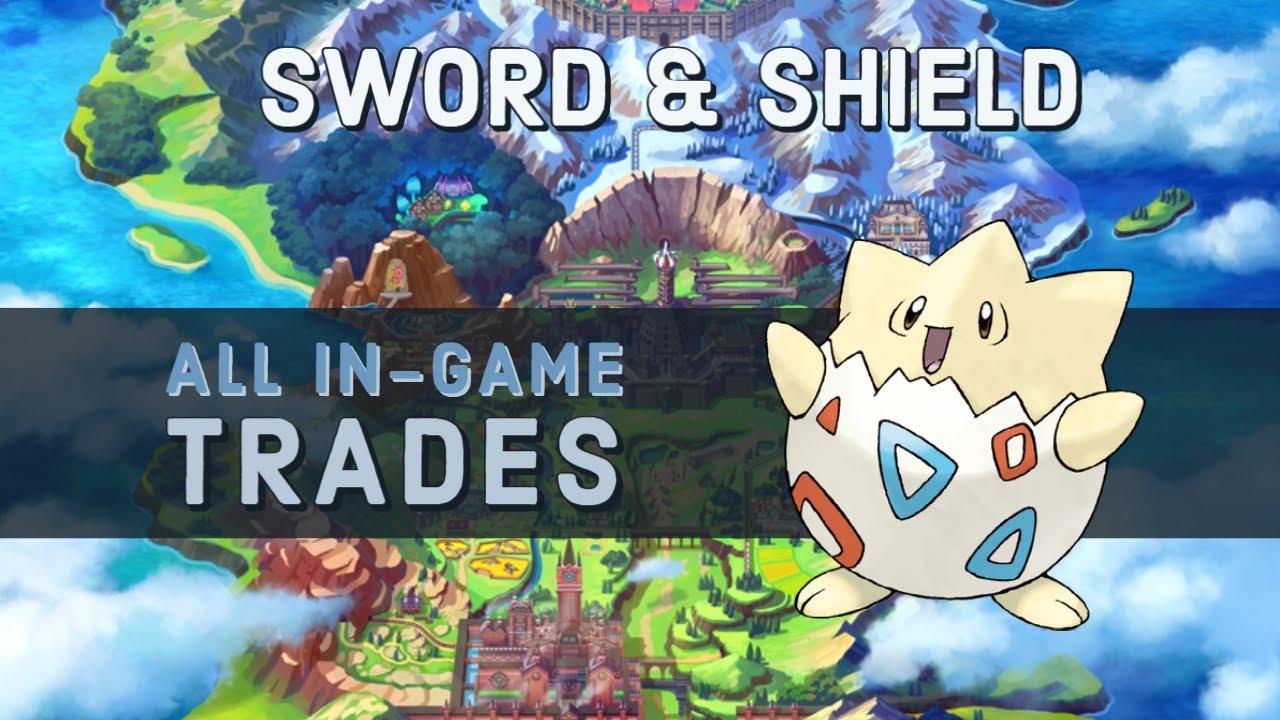 ingame trades pokemon sword