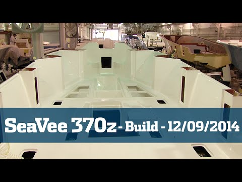 SeaVee 370Z Follow The Build Part #2 - Florida Sport Fishing TV